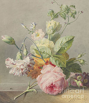 Georgius Jacobus Johannes van Os -  Floral Still Life