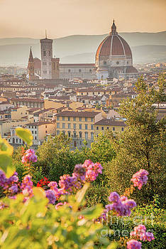 Florence Duomo vertical by Delphimages Photo Creations