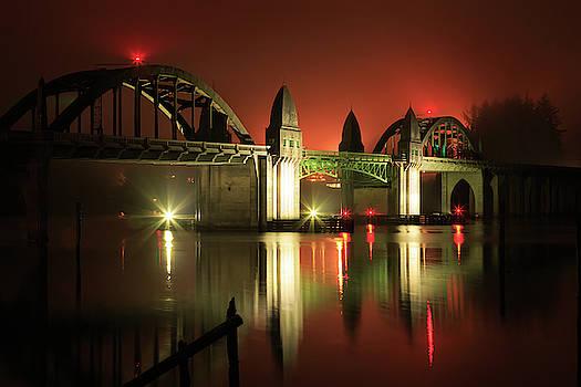 Florence Siuslaw River Bridge by James Eddy
