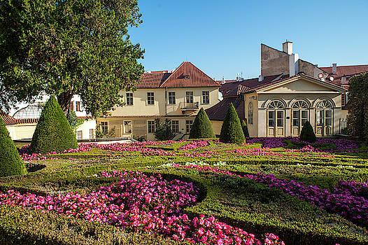 Jenny Rainbow - Flower Bed of Vrtba Garden