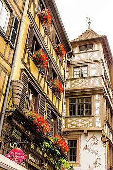 Flower Boxes Strasbourg by Paul Croll