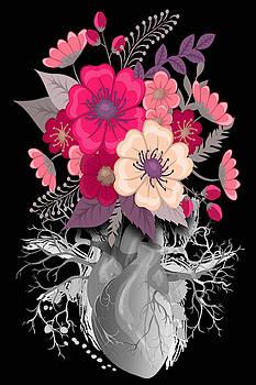 Flower Heart Spring 2 by Tony Rubino