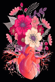 Flower Heart Spring by Tony Rubino