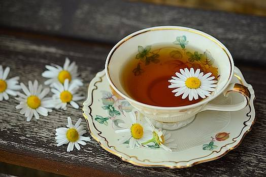 Flower tea by Top Wallpapers