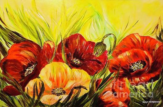 Flowerland by Olha Hernandez
