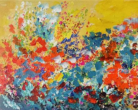 Flowers Everywhere by Carol Stanley