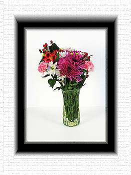 Flowers in a Vase by Richard Risely