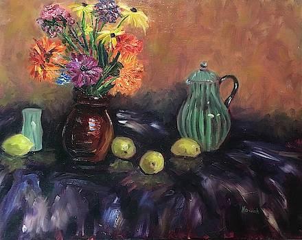 Flowers Still Life by Richard Nowak