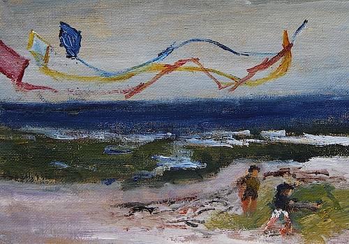 Flying Kites by Michael Helfen