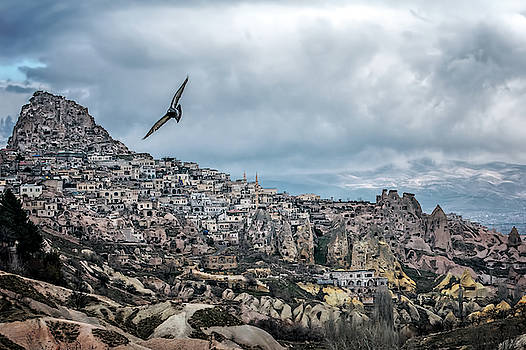 Flying over Cappadocia by Maria Coulson