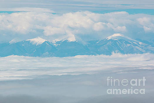 Steve Krull - Fog and Snow on the Sangre de Cristo