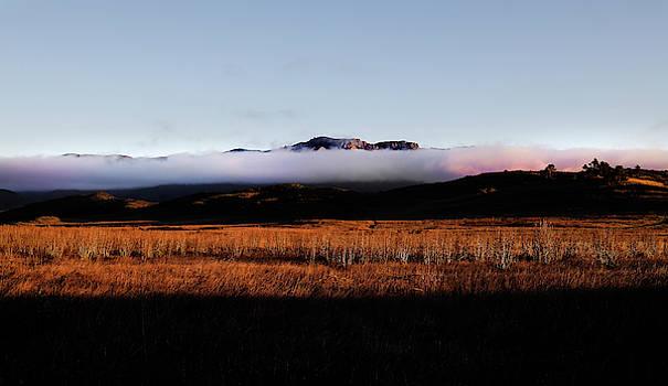Fog Over Boney Mountain by John Rodrigues