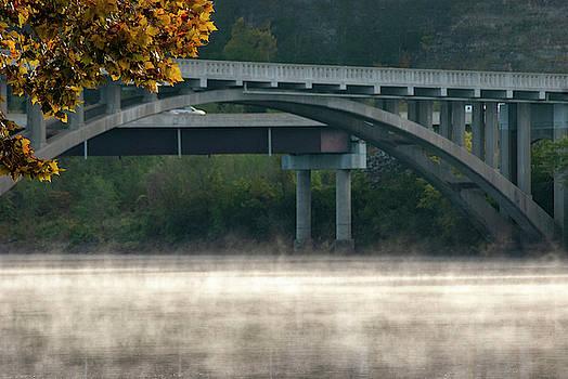 Fog Under the Bridge by Annette Persinger