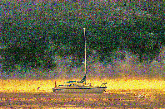 Foggy Anchor by Michael J Connor