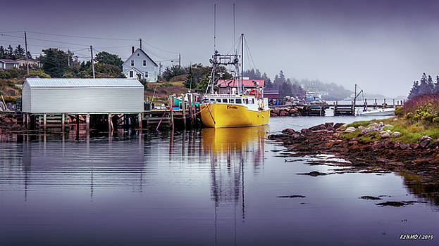 Foggy Day in Sambro by Ken Morris