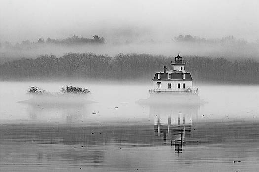 Foggy December at Esopus Light by Jeff Severson