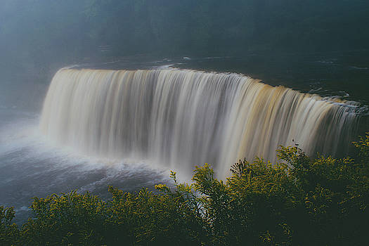 Foggy Falls by Tailor Hartman