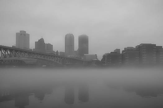 Foggy Pittsburgh by Michael Hills