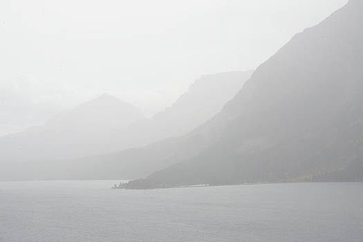 Foggy Shore by Whispering Peaks Photography