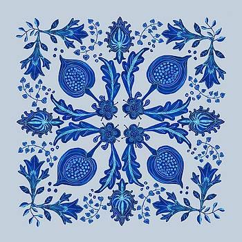 Folk Art Floral by Blenda Studio