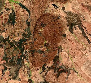 Footprint of Highland in Niger by Planet Impression