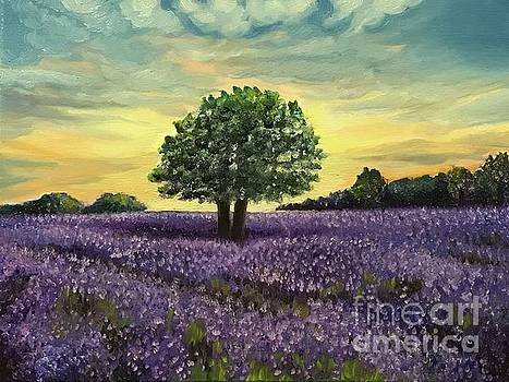 For the love of lavender by Boni Arendt