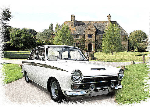 Ford 'Lotus' Cortina by Peter Leech