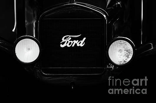 Ford Model T Lights by Dale Powell