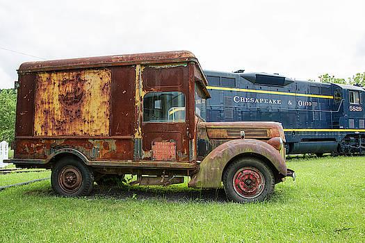 Ford Railway Truck by Jurgen Lorenzen