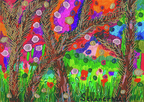 Forest Of Many Colors by Susan Schanerman