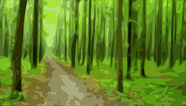 Forest Simplified by Tin Tran