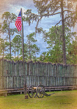 Fort Foster Seminole Indian Reenactment by Jennifer Stackpole