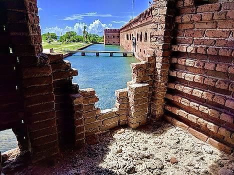 Fort Jefferson at Dry Tortugas National Park by Julie Harrington