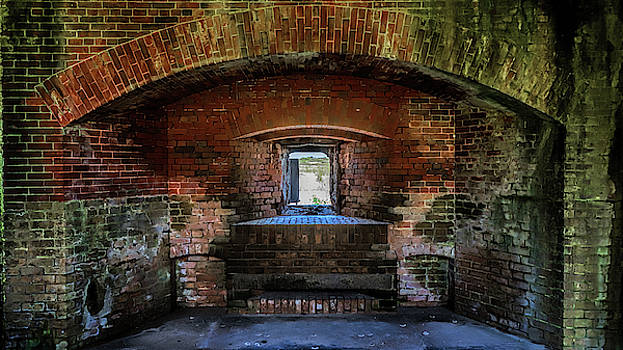 Fort Massachusetts Casemate by Susan Rissi Tregoning