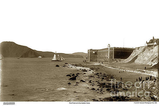 California Views Mr Pat Hathaway Archives - Fort Point and the Golden Gate circa 1887