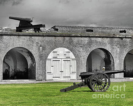 Fort Pulaski Artillery by Tom Gari Gallery-Three-Photography
