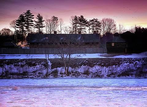Fort Western Dawn by John Meader