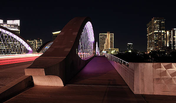 Fort Worth West Seventh Street Bridge 031419 by Rospotte Photography