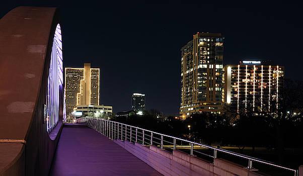Fort Worth West Seventh Street Bridge V7 031319 by Rospotte Photography