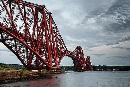Forth Rail Bridge, Edinburgh Scotland by Michalakis Ppalis