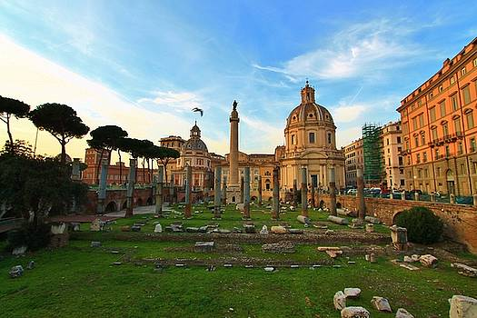 Forum of Trajan by Catie Canetti