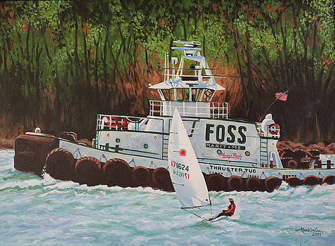 Foss Tug by Marie Wise