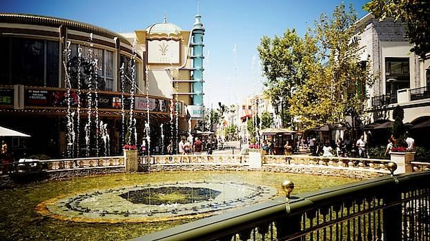 Fountain at The Grove by Barkley Simpson