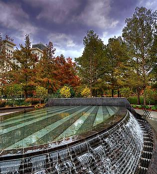 Fountain in Myriad by Darin Williams