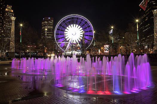Fountain of Rings in Centennial Olympic Park in Atanta, GA by Peter Ciro