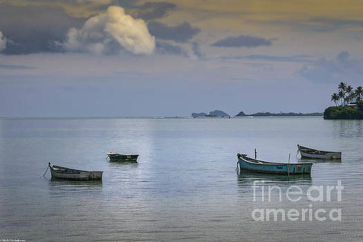 Four Boats by Mitch Shindelbower