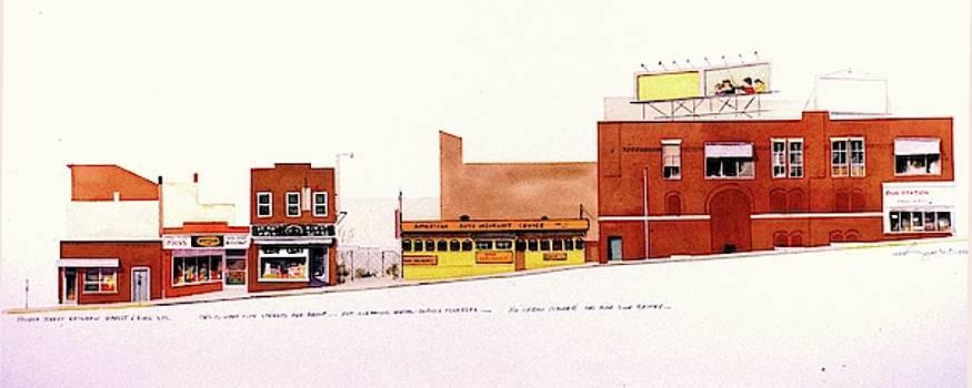 Fourth Street by William Renzulli