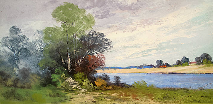 Fox River 1909 by George Frederick Carl Waller