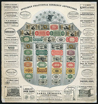 Daniel Hagerman - FRACTIONAL CURRENCY ADVERTISER c. 1867