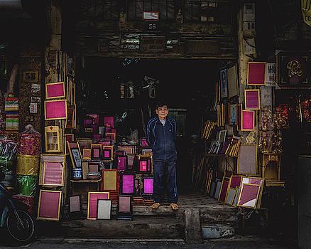 Frame Street, Hanoi by Sabrina Pinksen